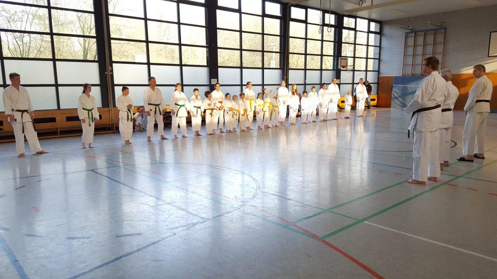 Karateka des TuS Homberg